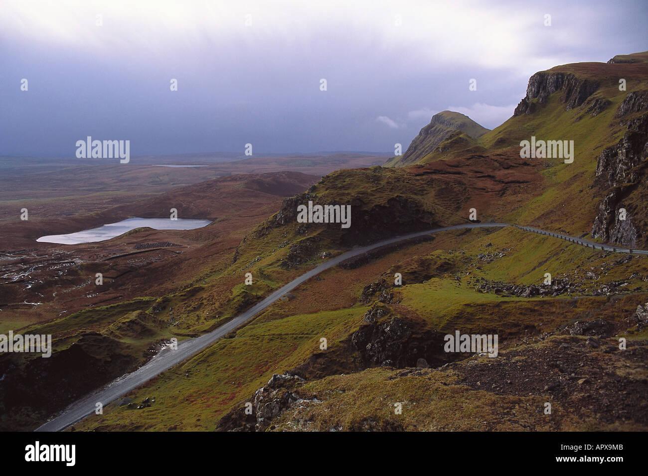 The Storr, Isle of Skye Scotland - Stock Image