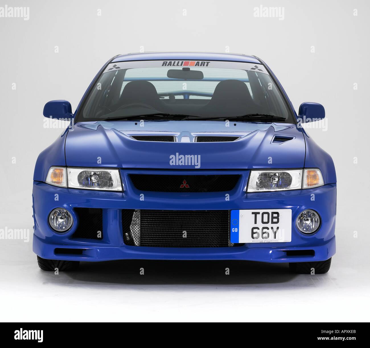 Mitsubishi Evo 6 Stock Photos & Mitsubishi Evo 6 Stock Images - Alamy