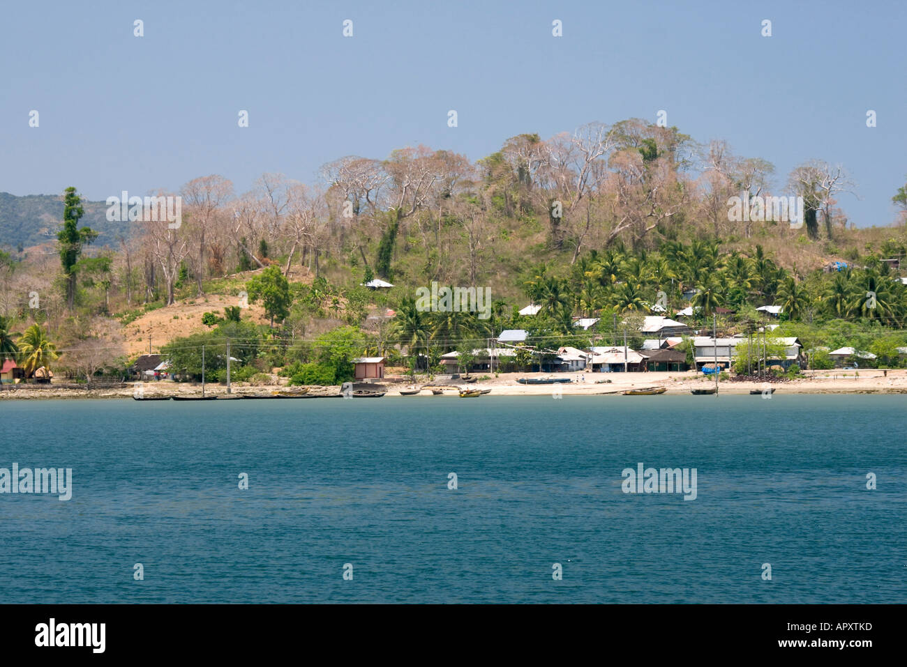 Long island, Andaman Islands, India, Long Island, Andamanen, Indien Long island - Stock Image