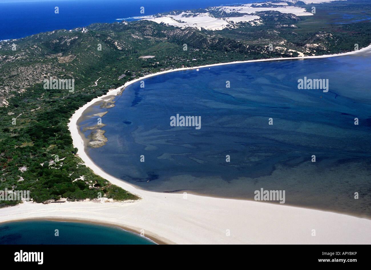 Mocambique Mozambique Aerial Stock Photos & Mocambique