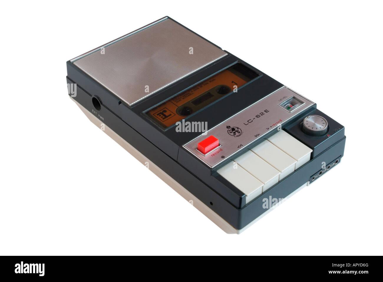 Lampitt LC-62E Cassette Tape Recorder - Stock Image