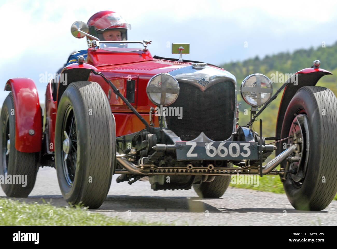 vintage sports car club stock photos vintage sports car. Black Bedroom Furniture Sets. Home Design Ideas