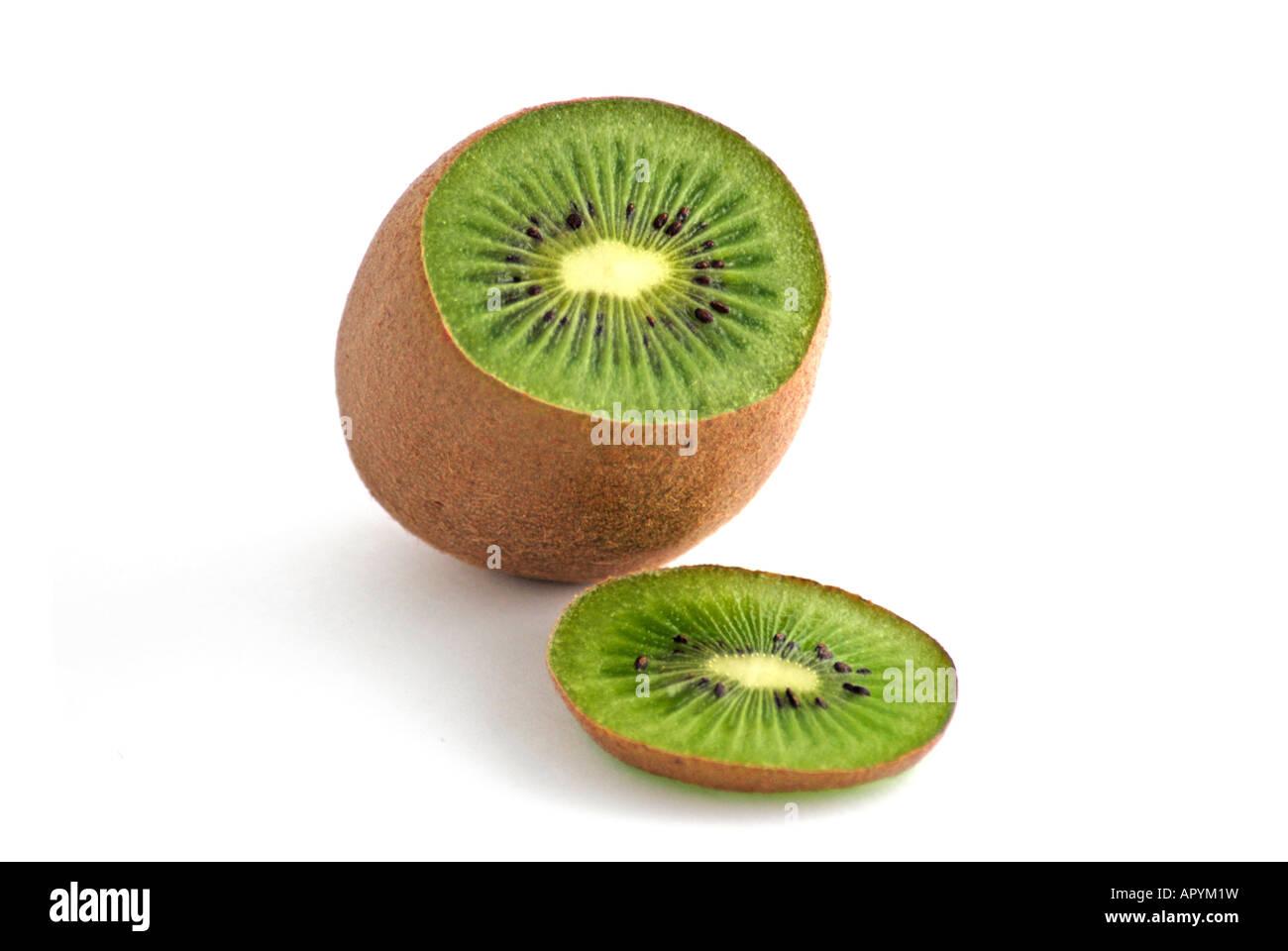 Sliced Kiwi - Stock Image