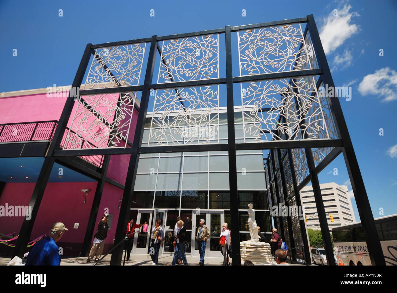Alameda Smithsonian Museum in San Antonio Texas - Stock Image