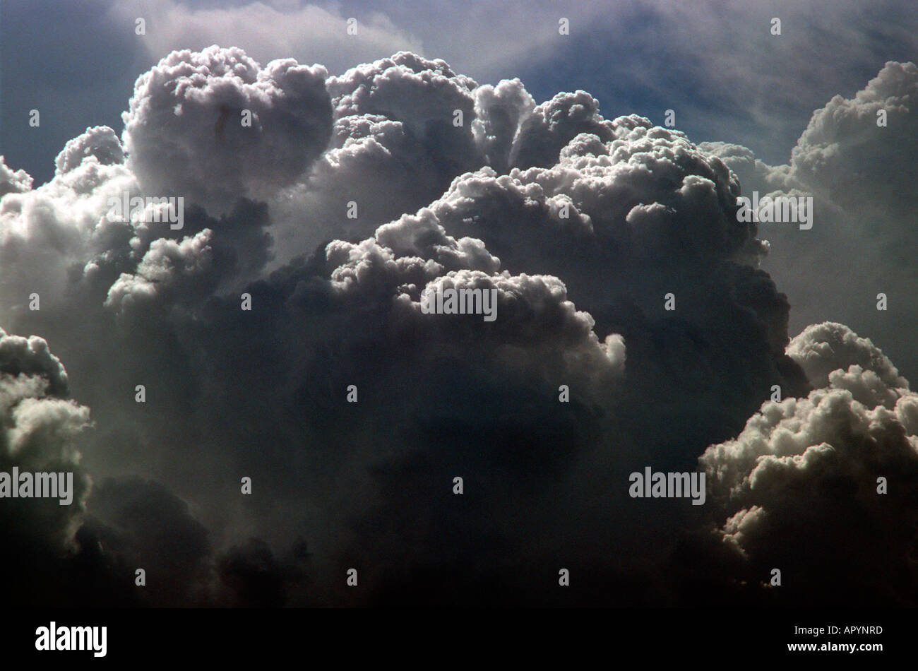 Storm Clouds, Cumulonimbus. Growing - Stock Image