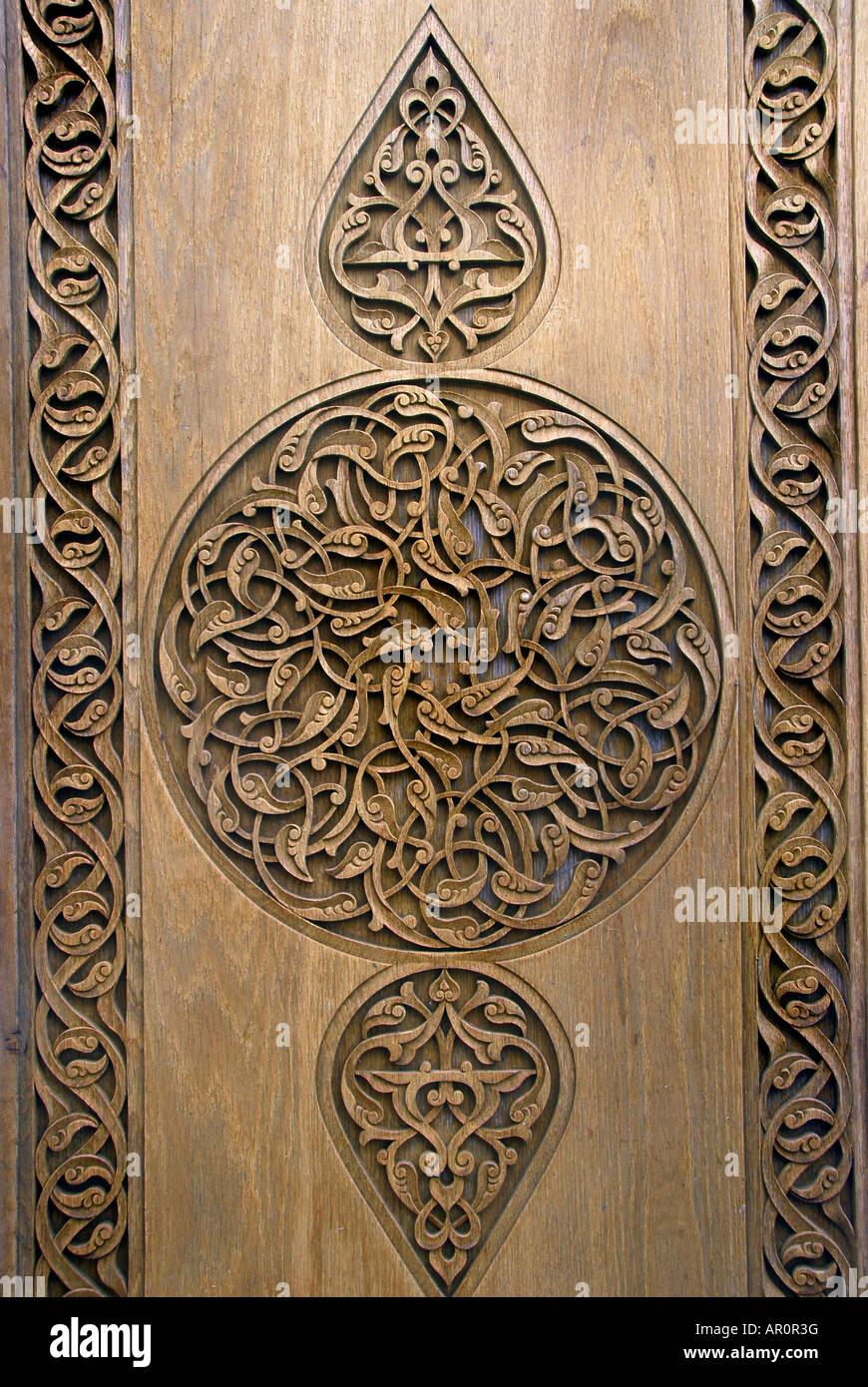 OTTOMAN TURKISH STYLE WOODWORK - Stock Image