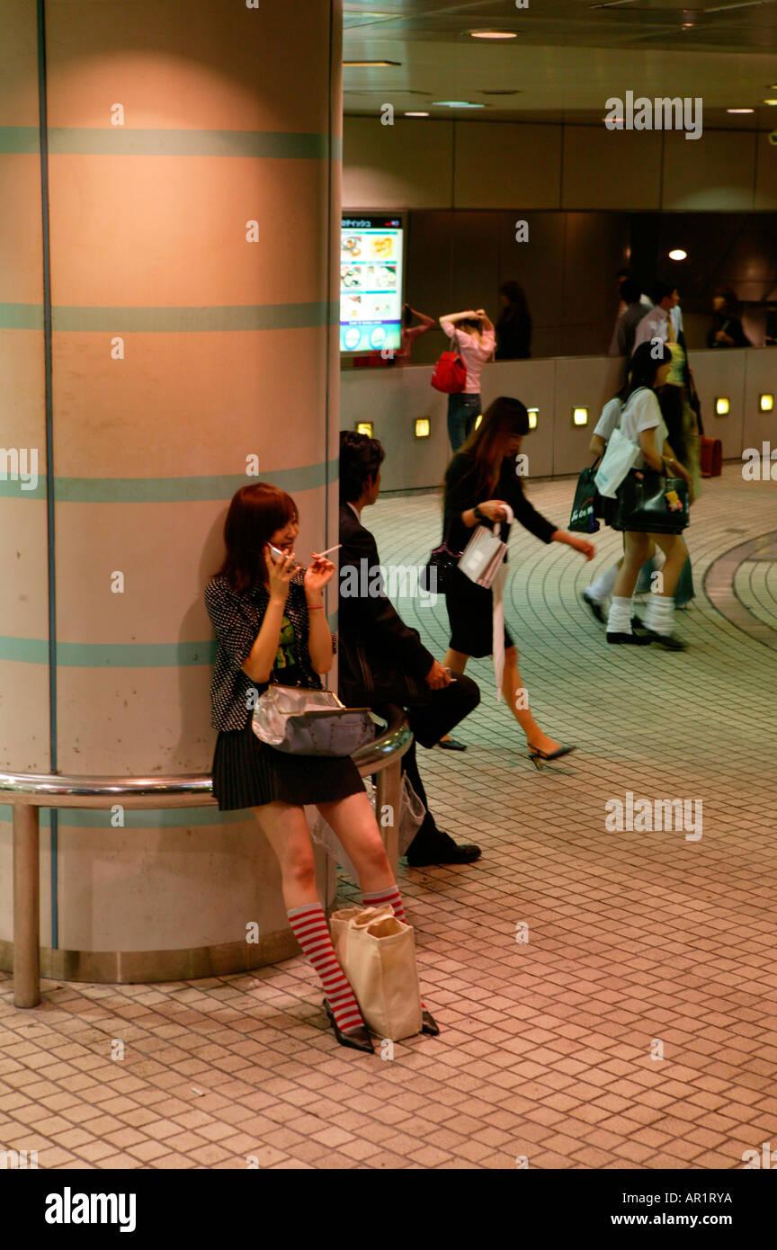 109 shopping complex, Shibuya Tokyo, Japan - Stock Image