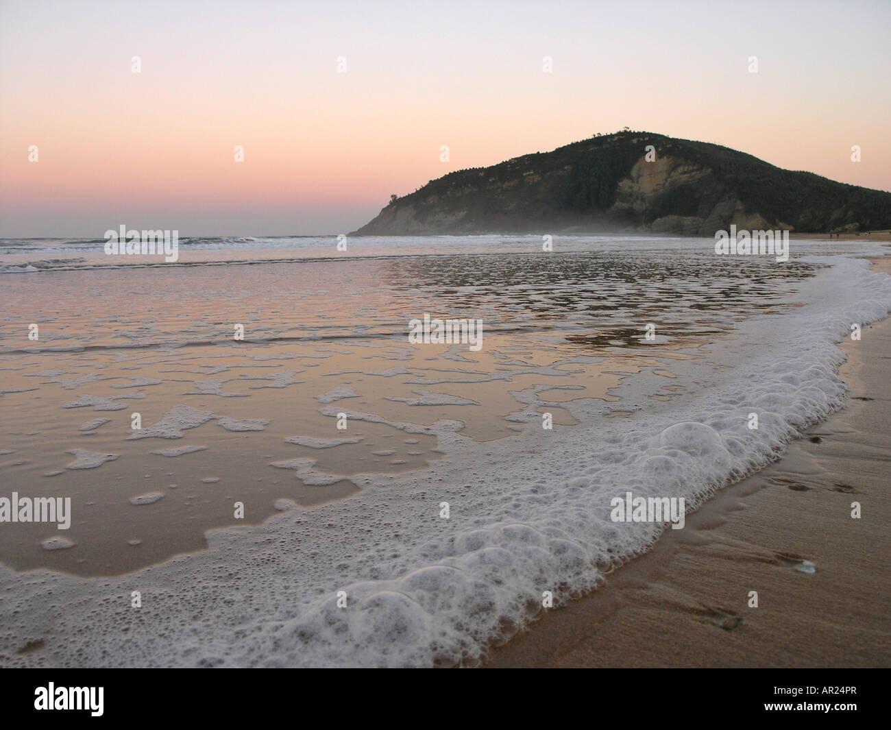 Rodiles beach Villaviciosa Asturias Spain Stock Photo