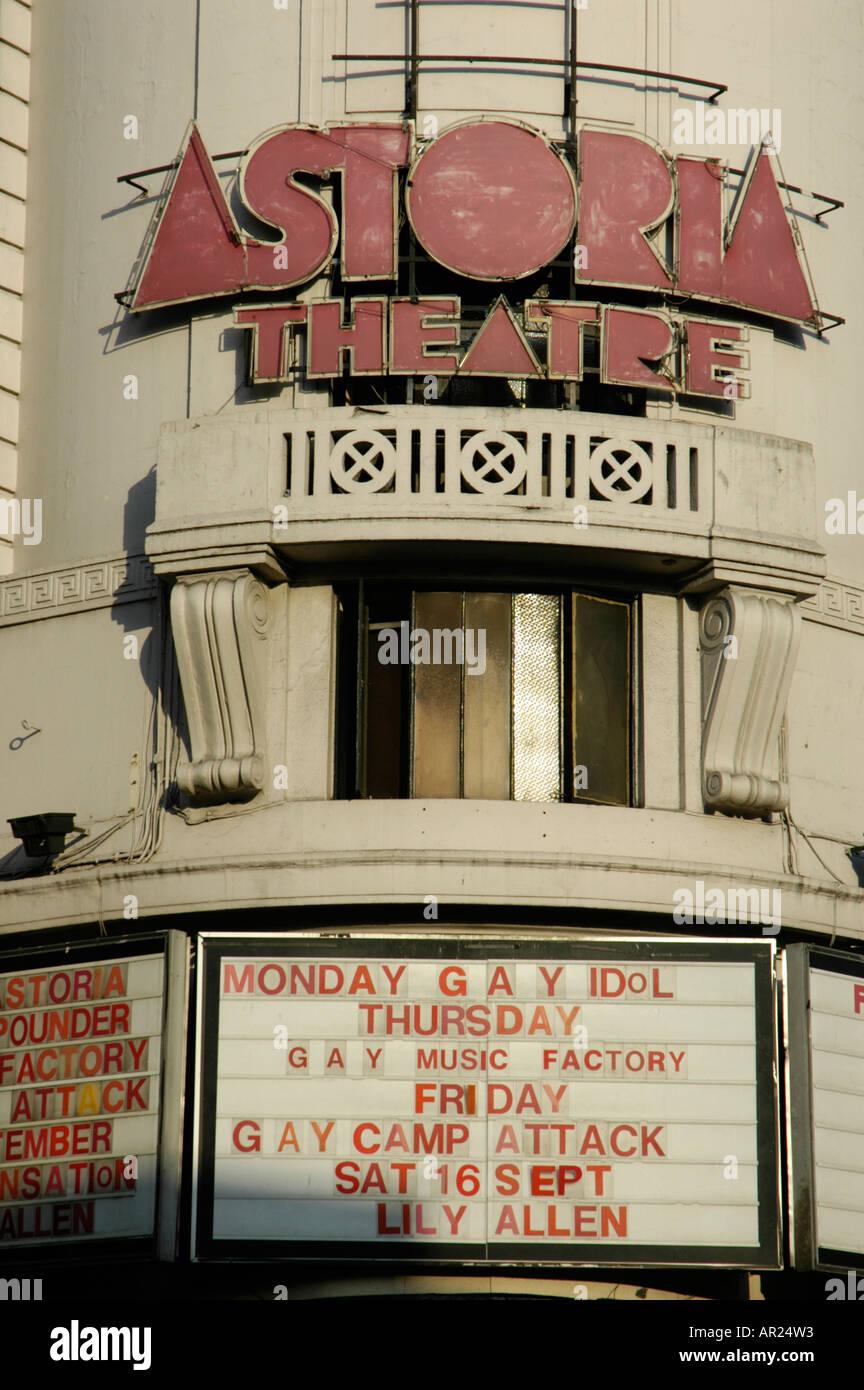 Gay london astoria