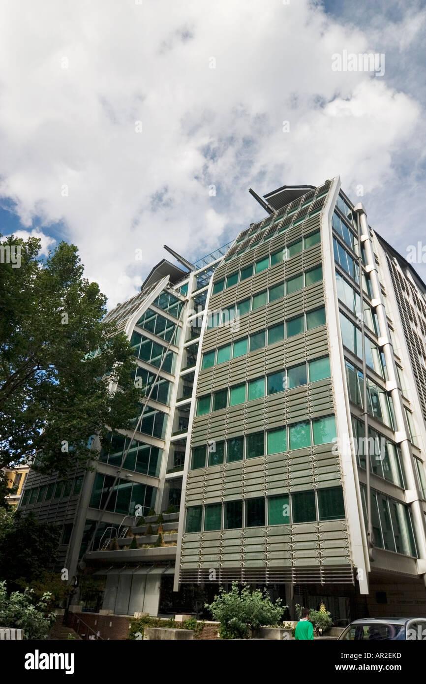 Lloyds Banking Group corporate headquarters at 25 Gresham Street London - Stock Image