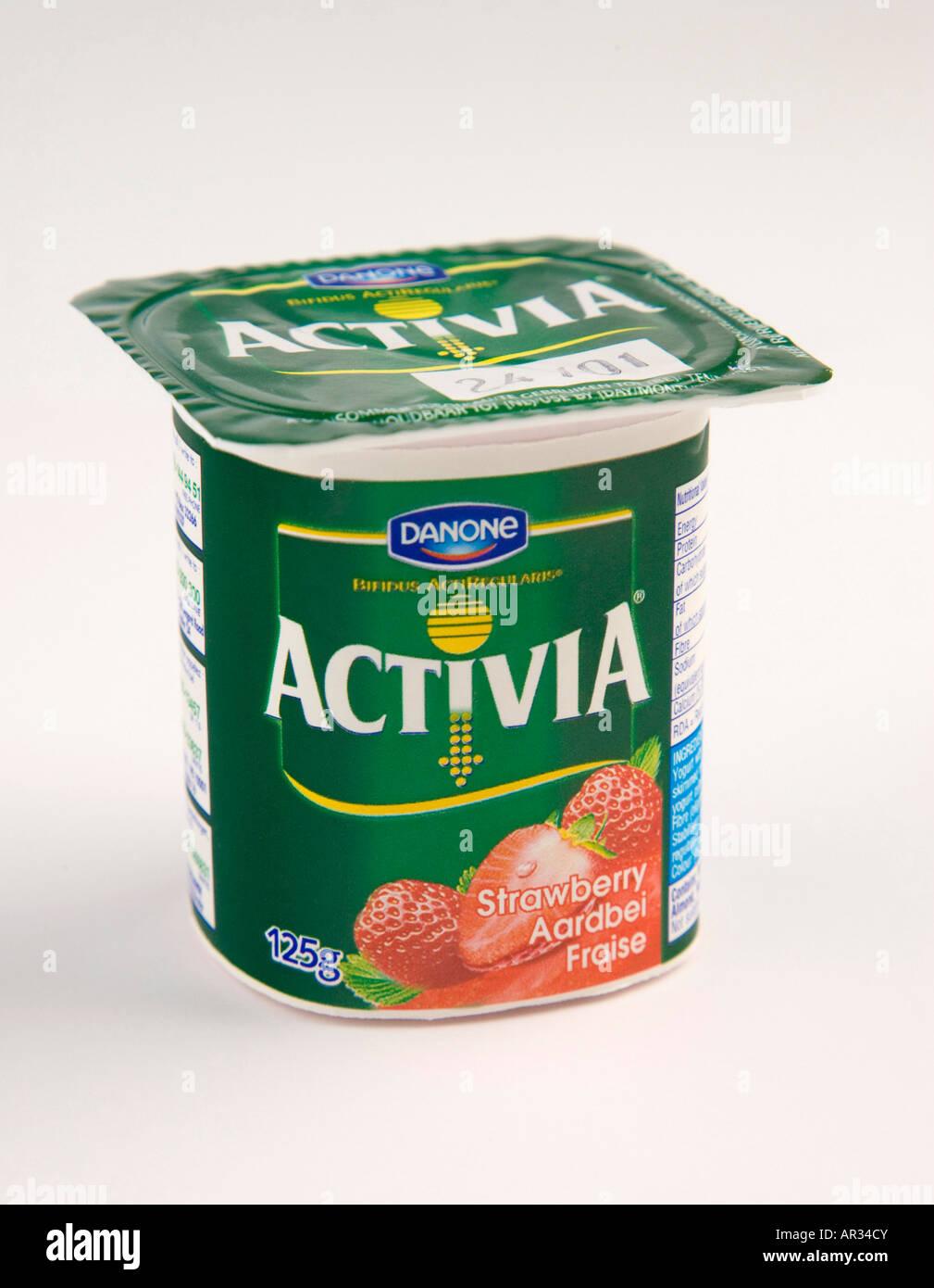 activia yoghurt stock photos & activia yoghurt stock images - alamy