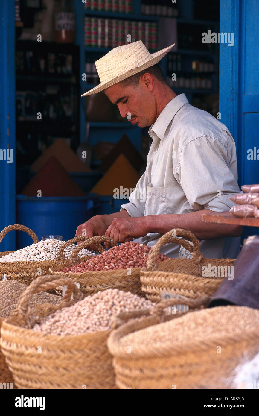 Legumes, Djerba, Tunesia - Stock Image