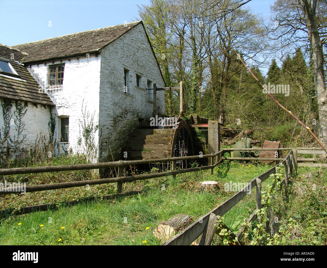 Gelligroes Mill and Candle Workshop Blackwood South Wales GB UK 2004 Stock Photo