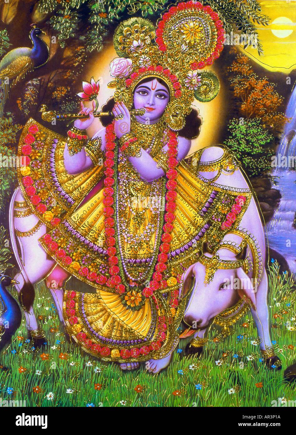Krishna - Stock Image