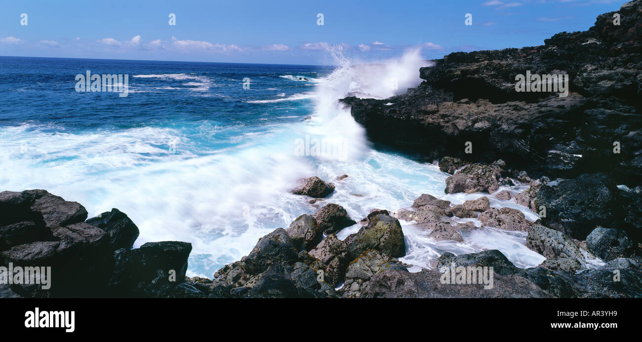 Sout Coast, Reunion, Indian Ocean - Stock Image