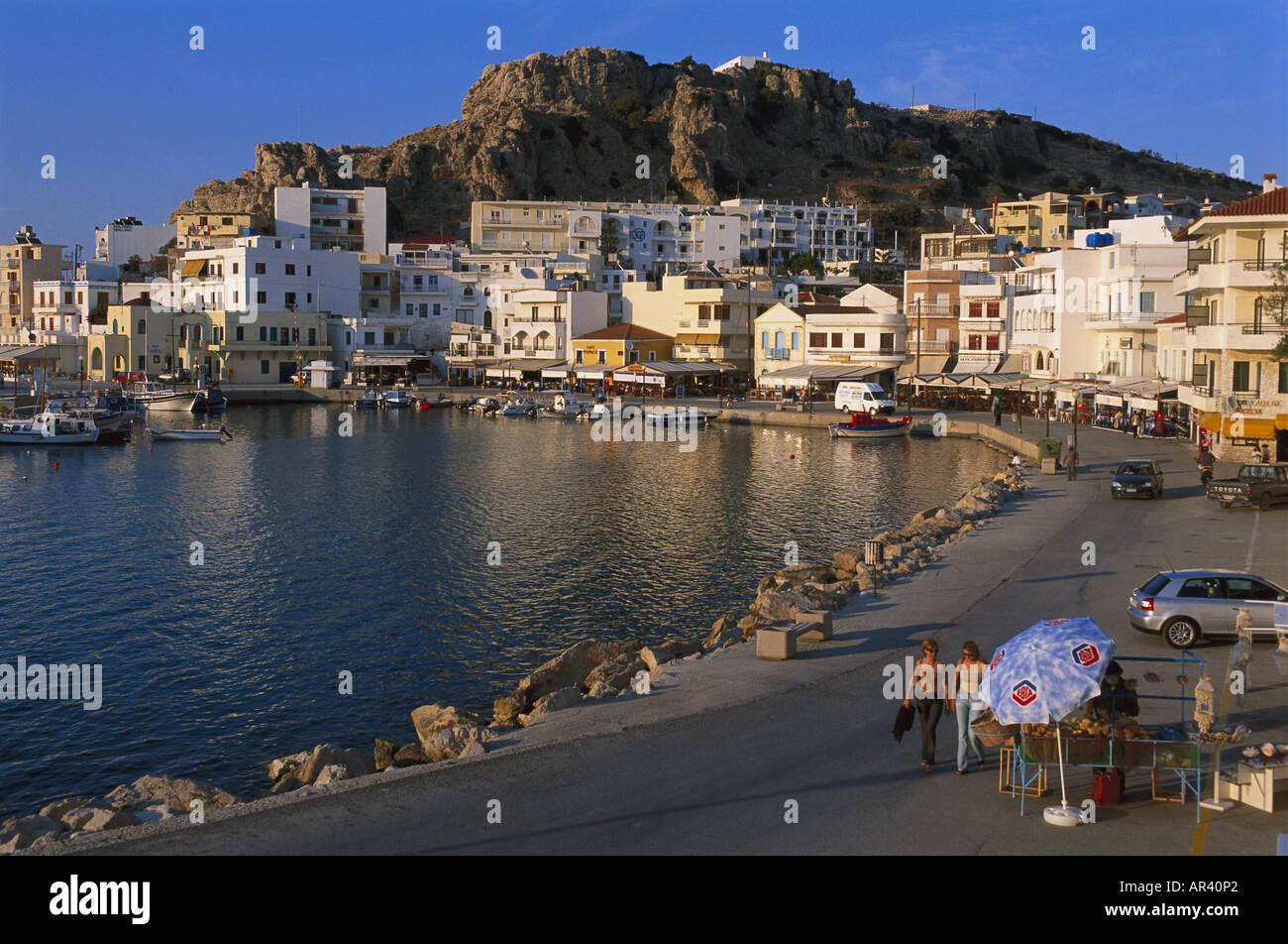 Vronthi Bay, Pigadia, Scarpanto, Dodecanese, Greece Stock Photo