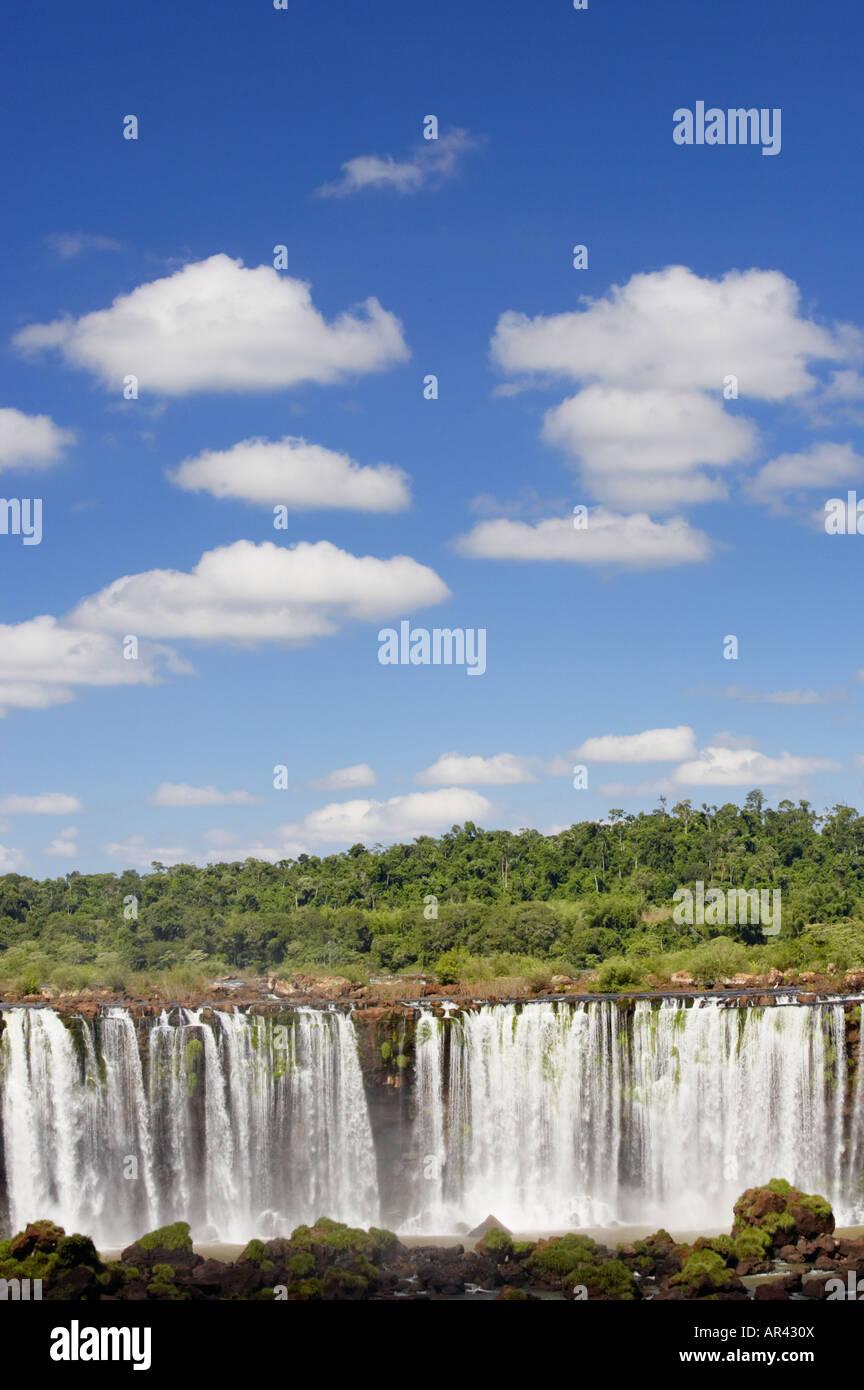 Salto Rivadavia Iguacu National Park Brazil Stock Photo