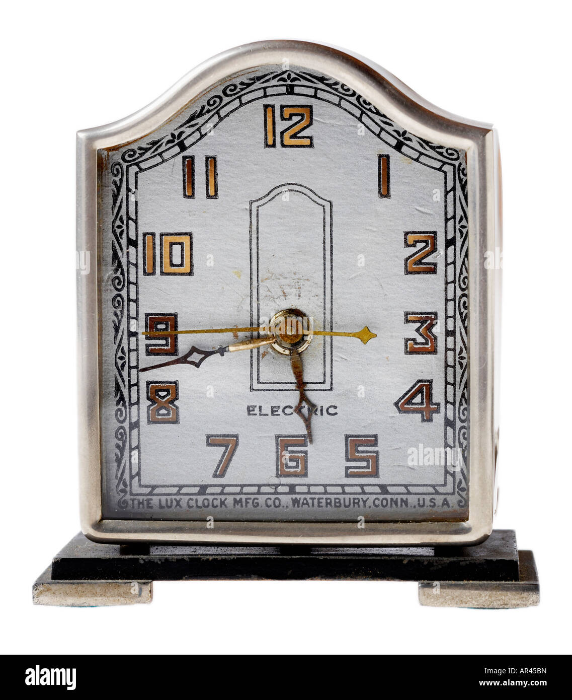 vintage collectible antique clock - Stock Image