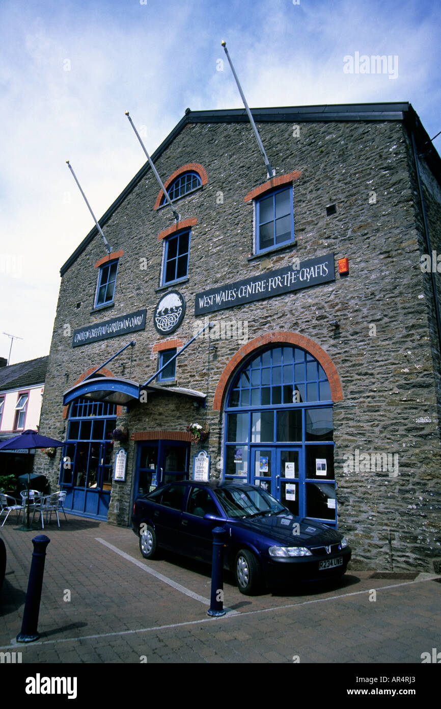 West Wales Centre for The Crafts St Clears Carmarthenshire West Wales Stock Photo