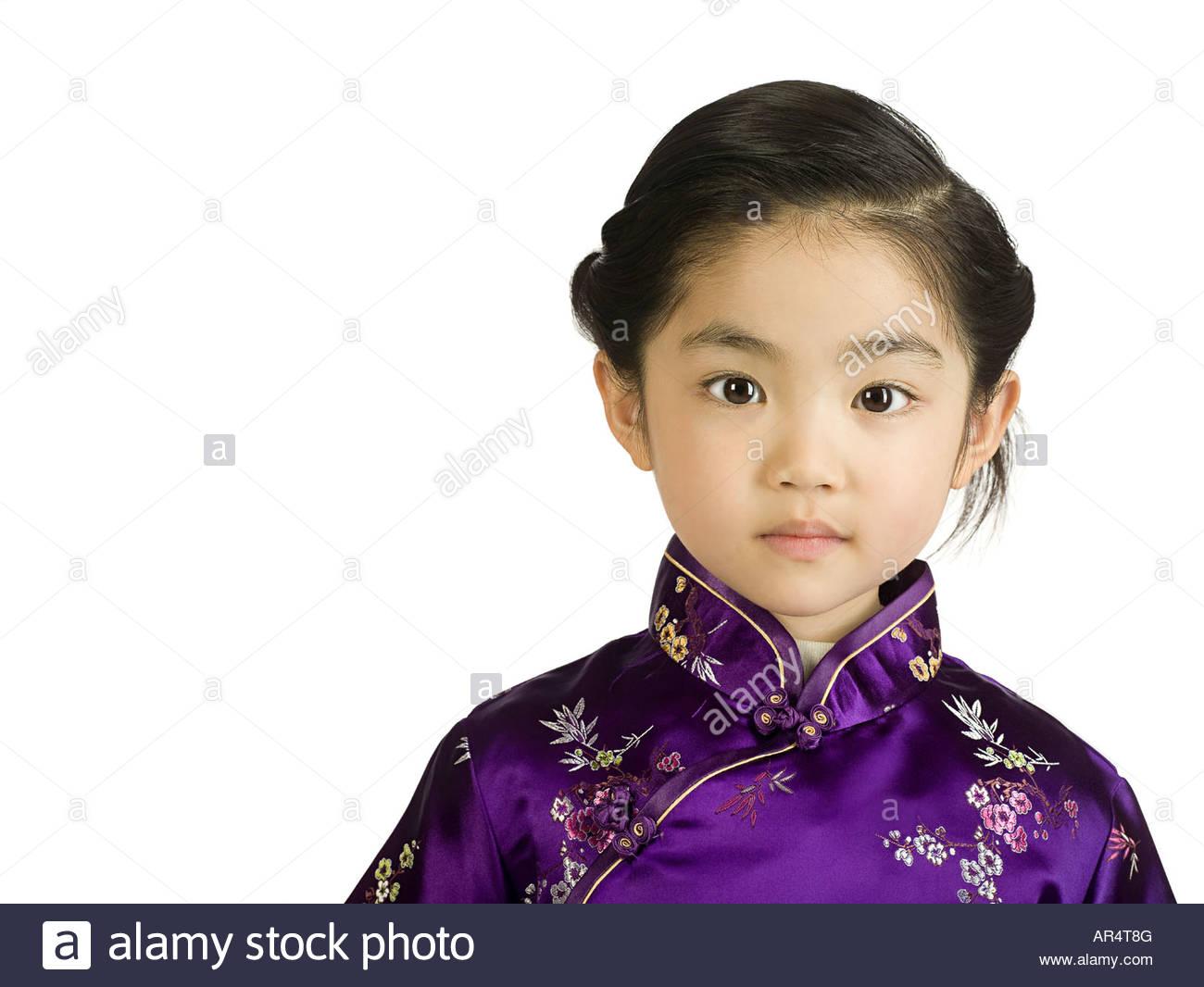 Chinese girl - Stock Image
