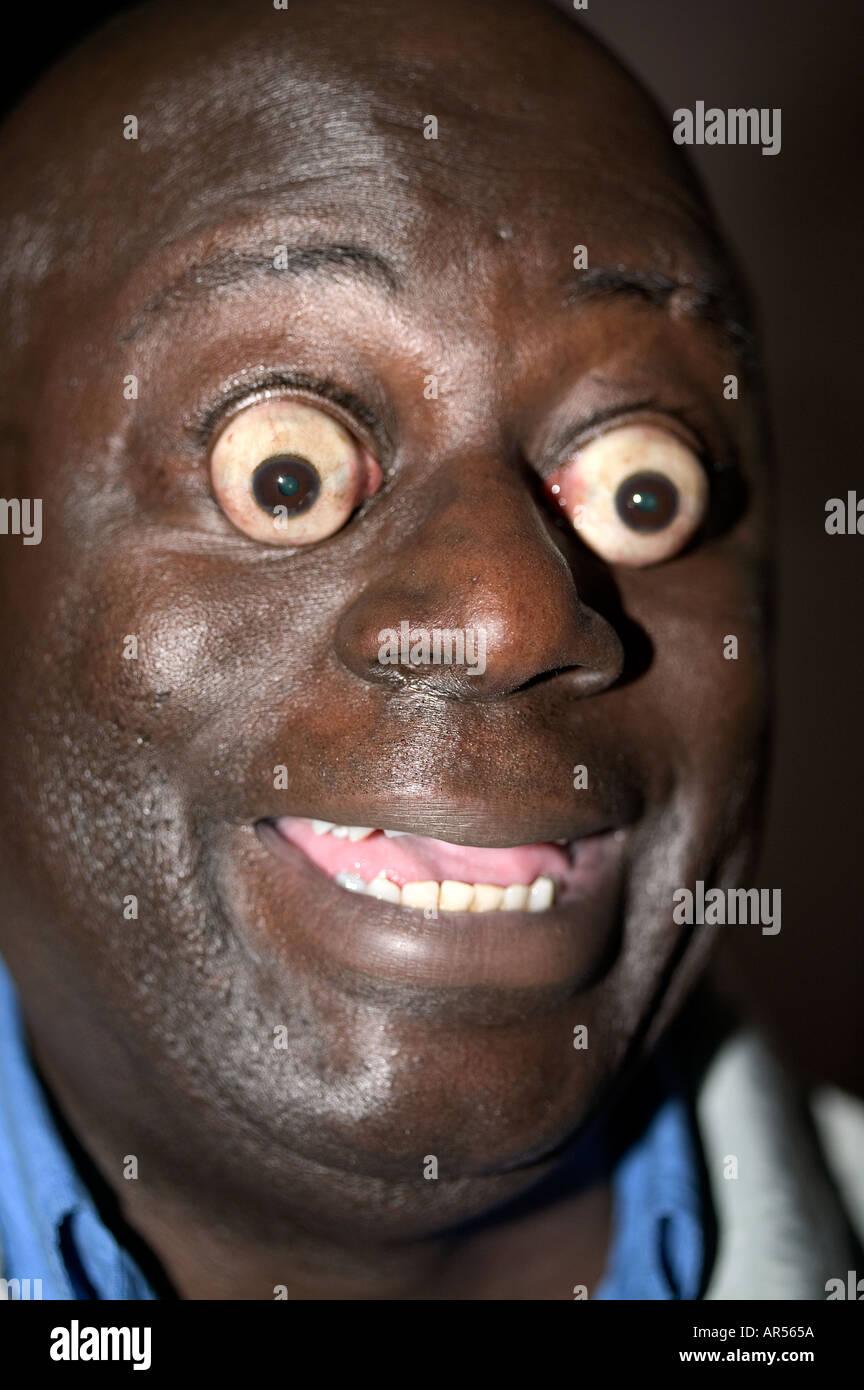 Big Eyes humour Stock Photo