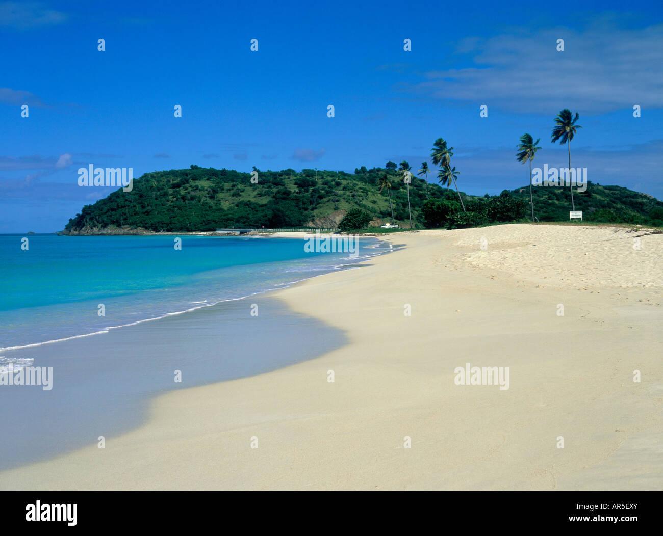 DARKWOOD BEACH  WEST COAST  ANTIGUA Stock Photo