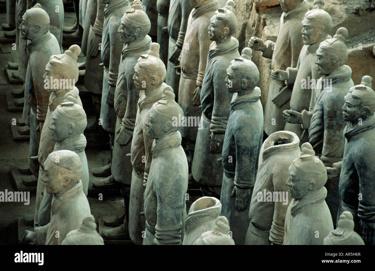 Terracotta army - Stock Image