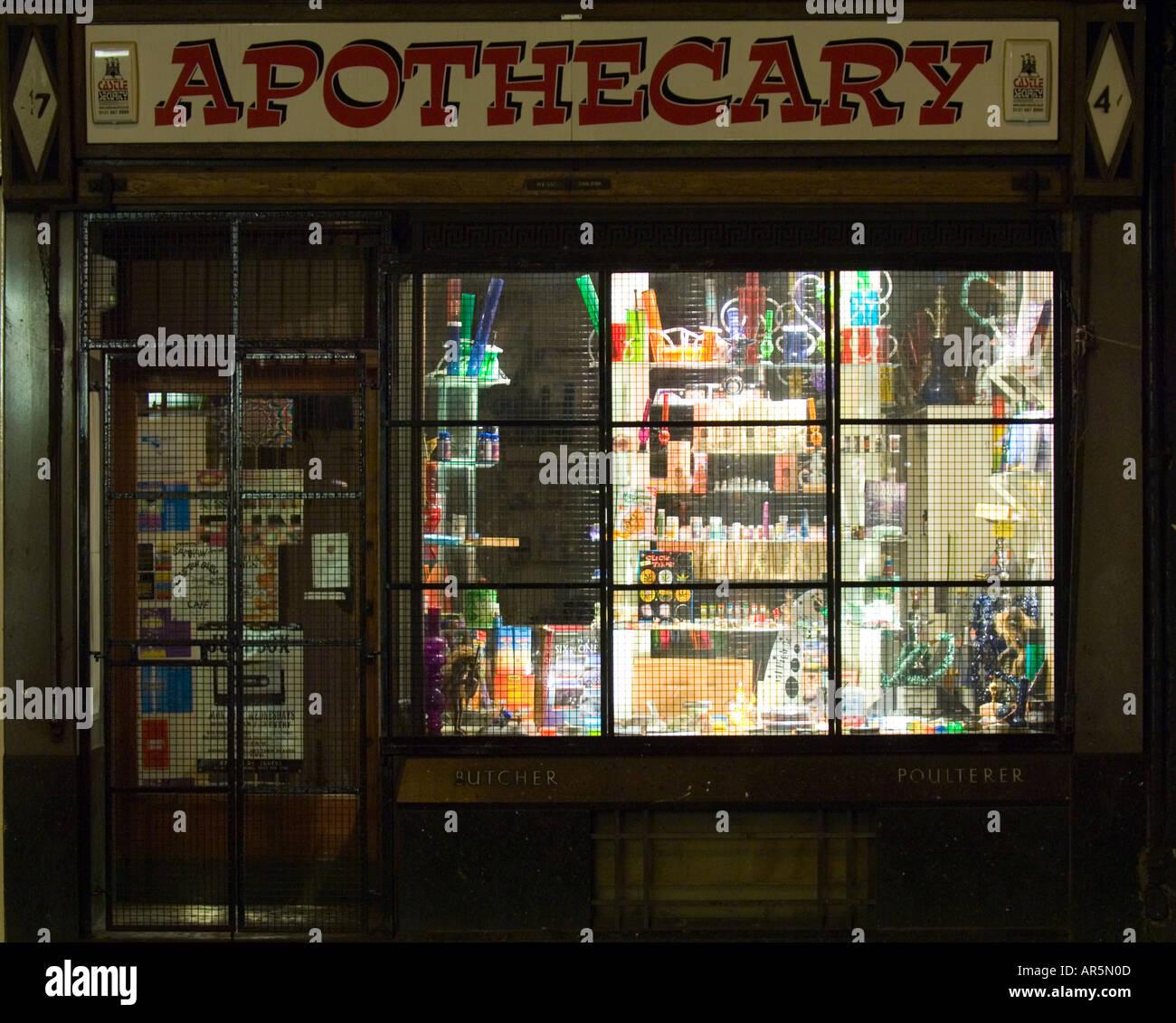Apothecary Stock Photo