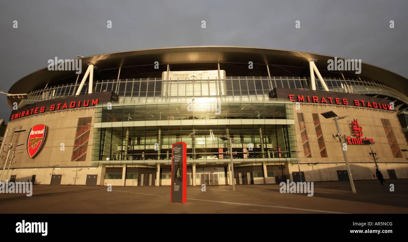 Arsenal's new stadium, The Emirates. - Stock Image