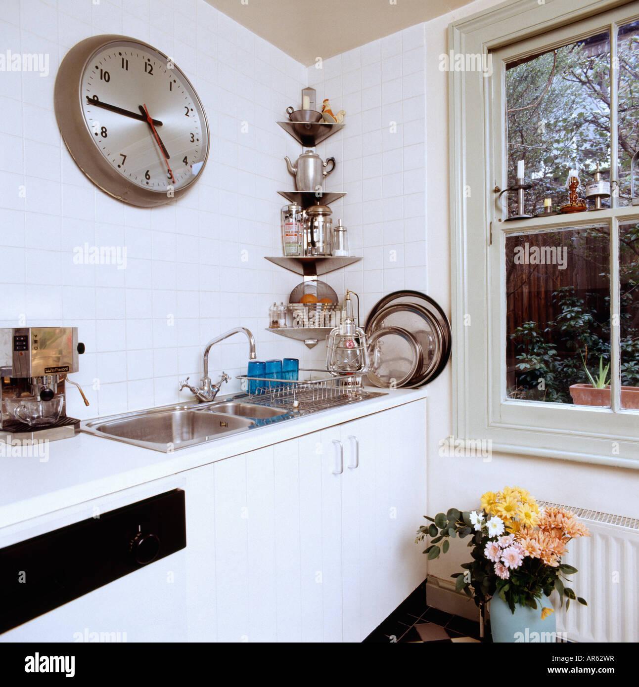 Stainless Steel Corner Shelf Kitchen Baby Gate For Kitchen