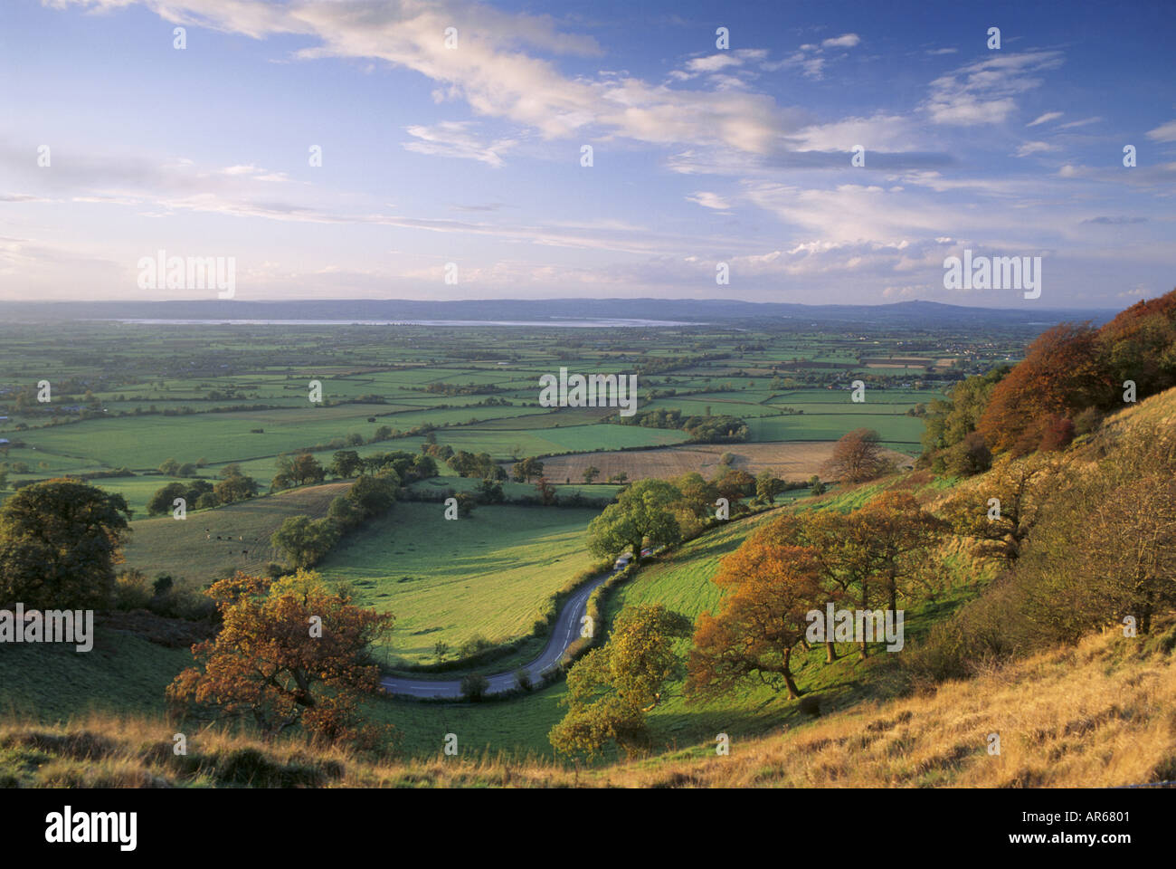 Frocester Hill Coaley Peak Gloucestershire - Stock Image