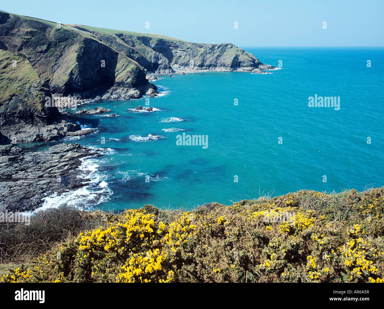 Cornish coast - Stock Image
