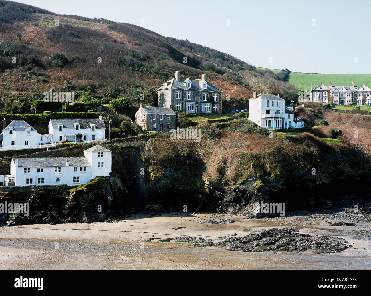 Port isaac cornwall - Stock Image