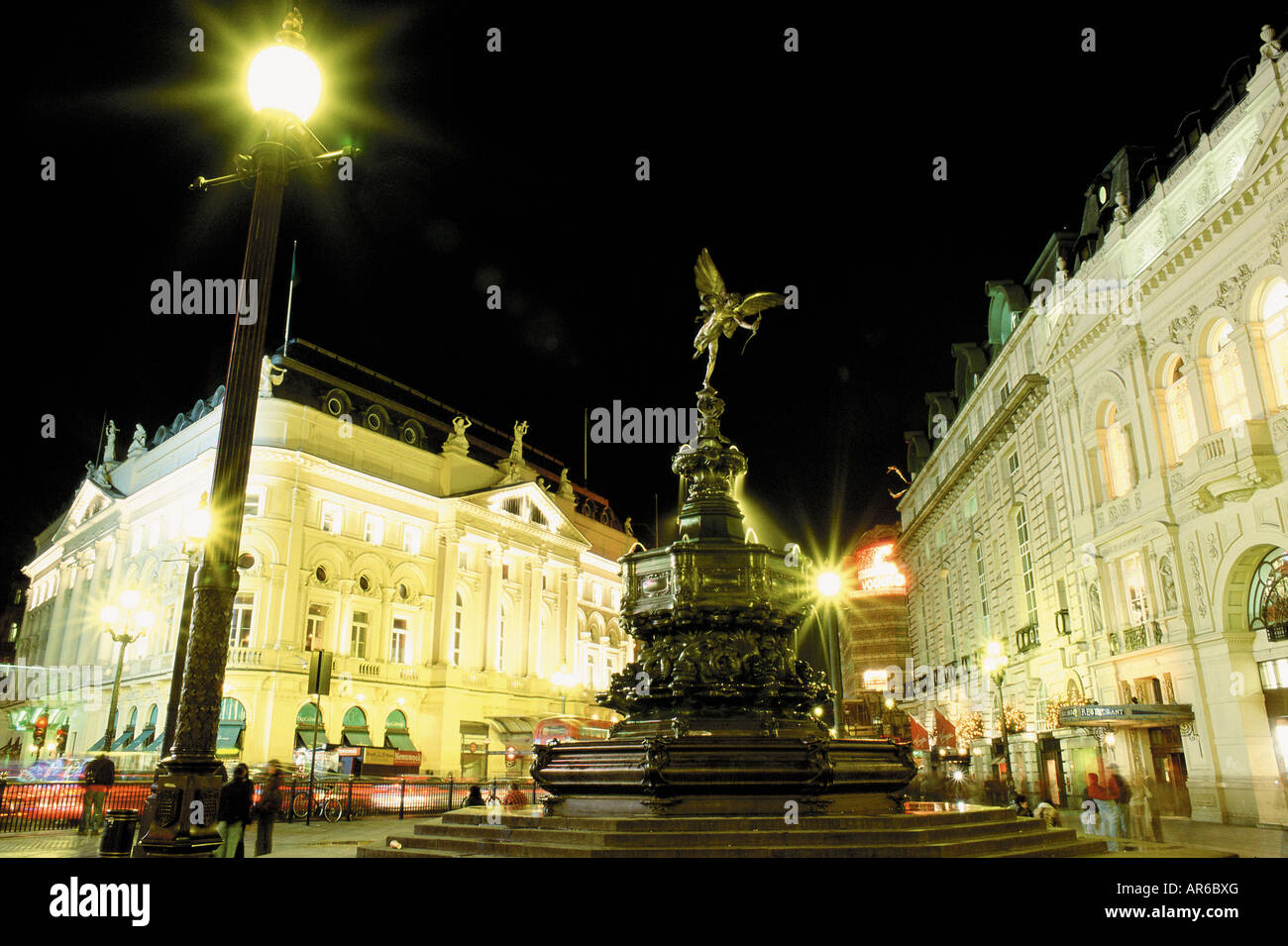 Picadilly Circus - Stock Image