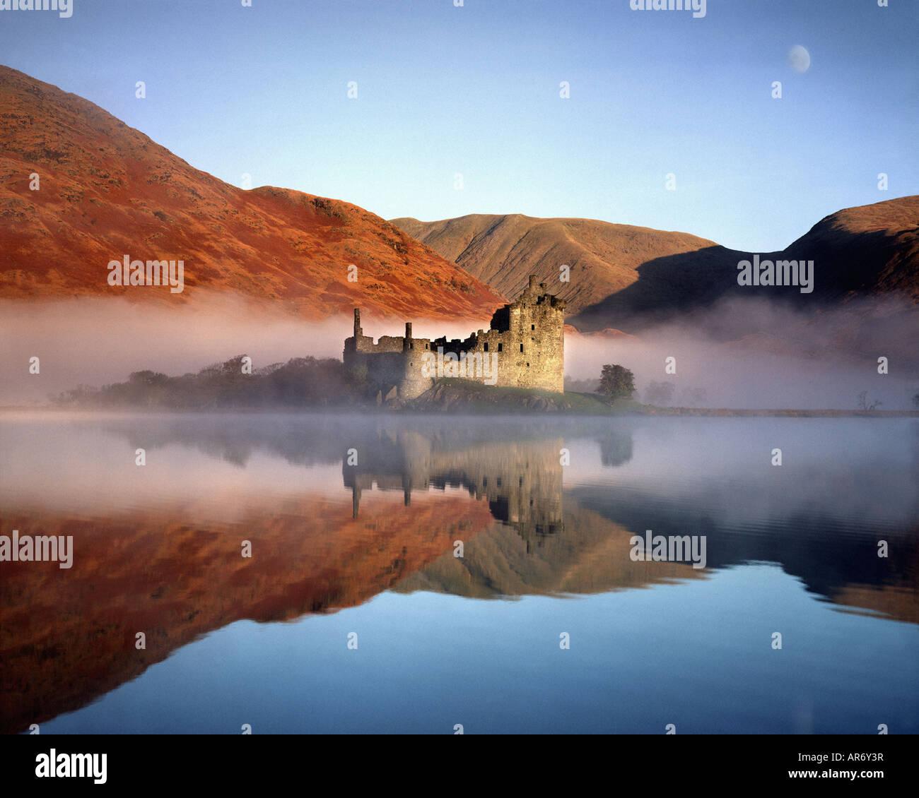 GB - SCOTLAND:  Kilchurn Castle on Loch Awe - Stock Image