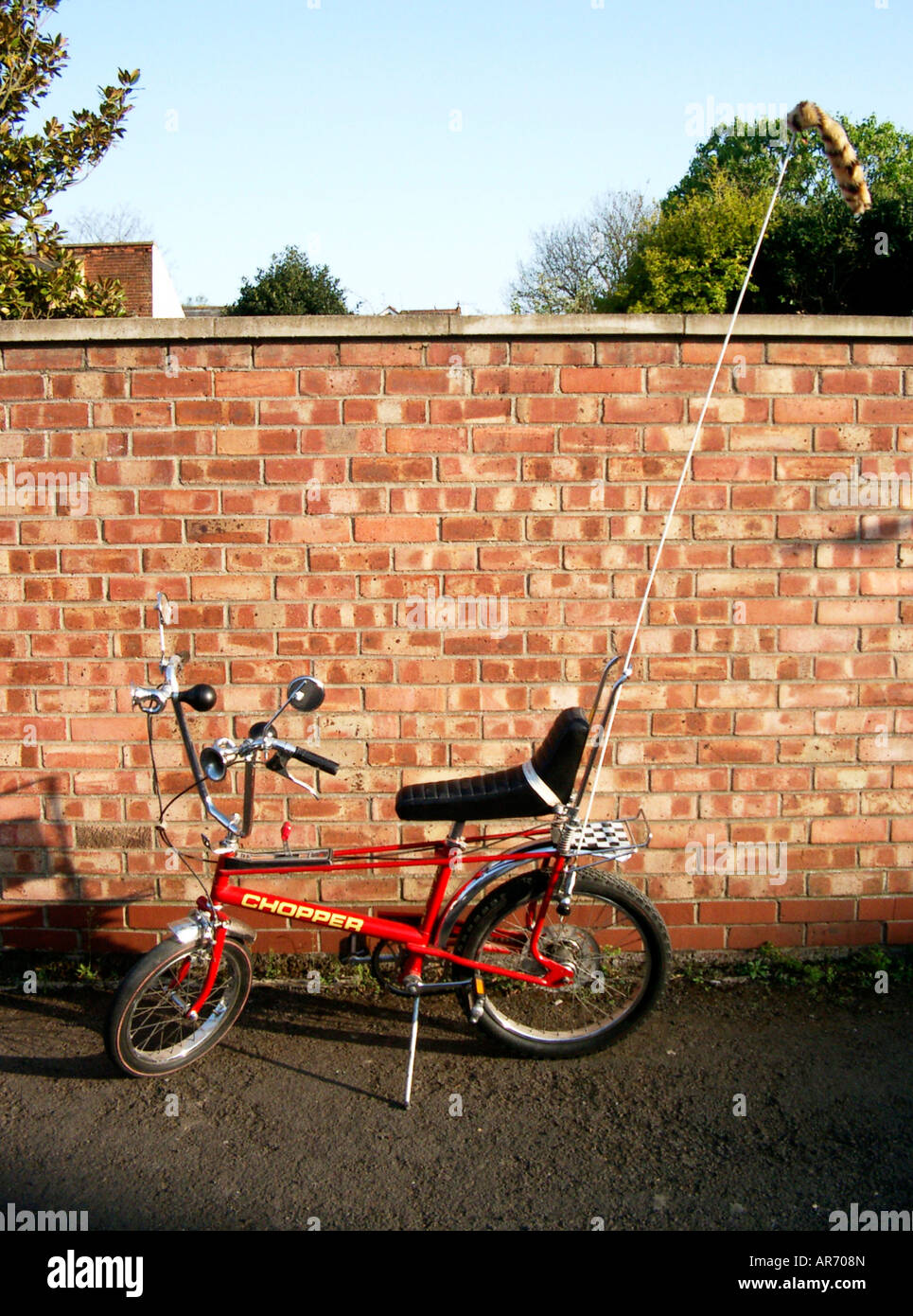 The iconic 1970s bicycle, the Raleigh Chopper Mark II - Stock Image