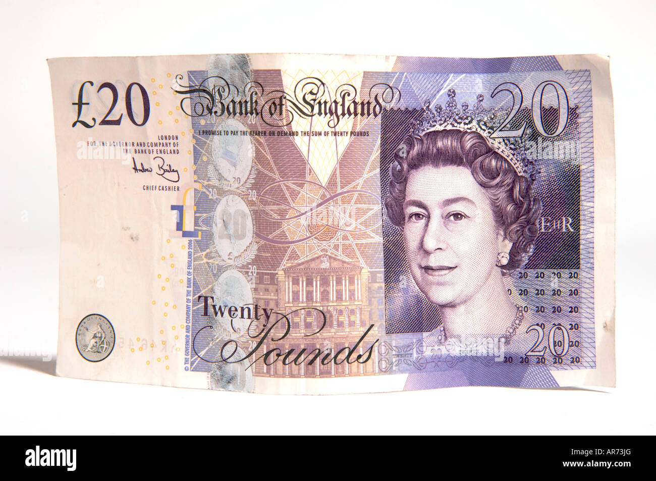 Twenty pound note - Stock Image