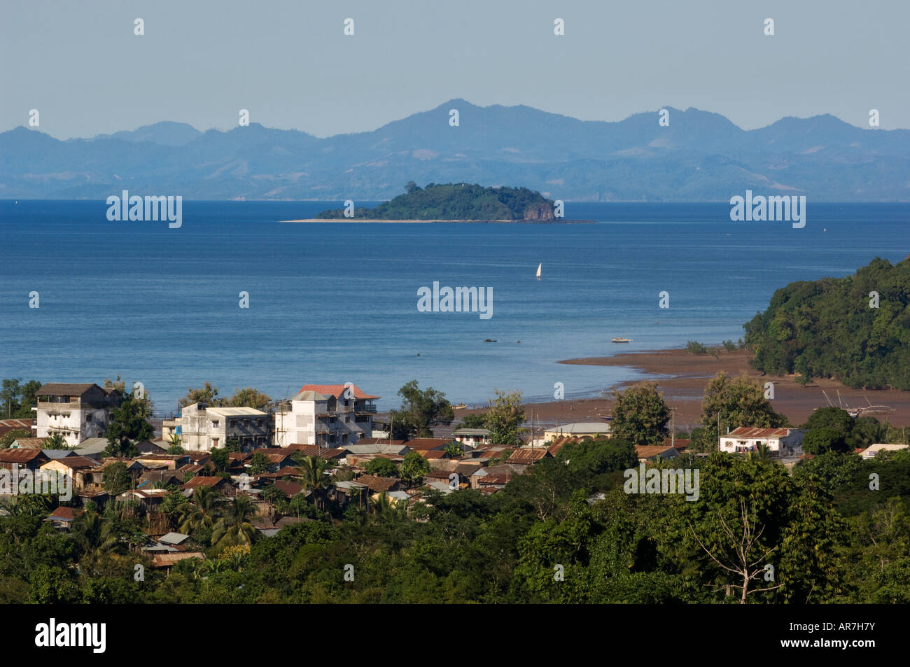 Hell-Ville, Nosy Be, Madagascar - Stock Image