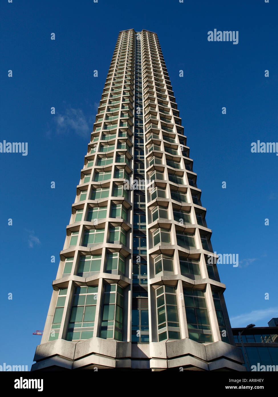 Centre Point Tower London England Europe EU. Part is the headquarters of The Confederation of British Industry CBI - Stock Image