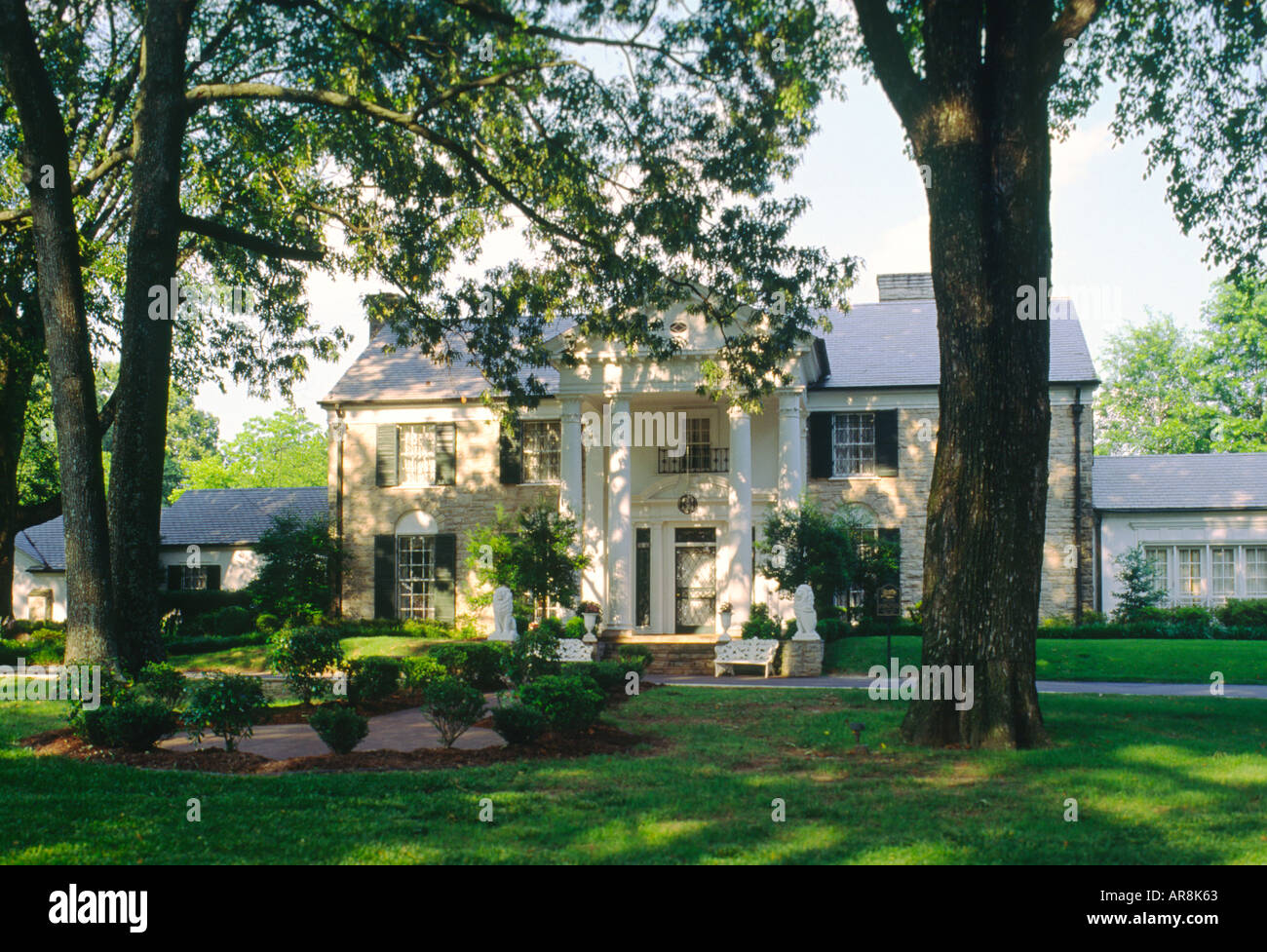 Graceland, home of Elvis Presley. Memphis, Tennessee, USA - Stock Image