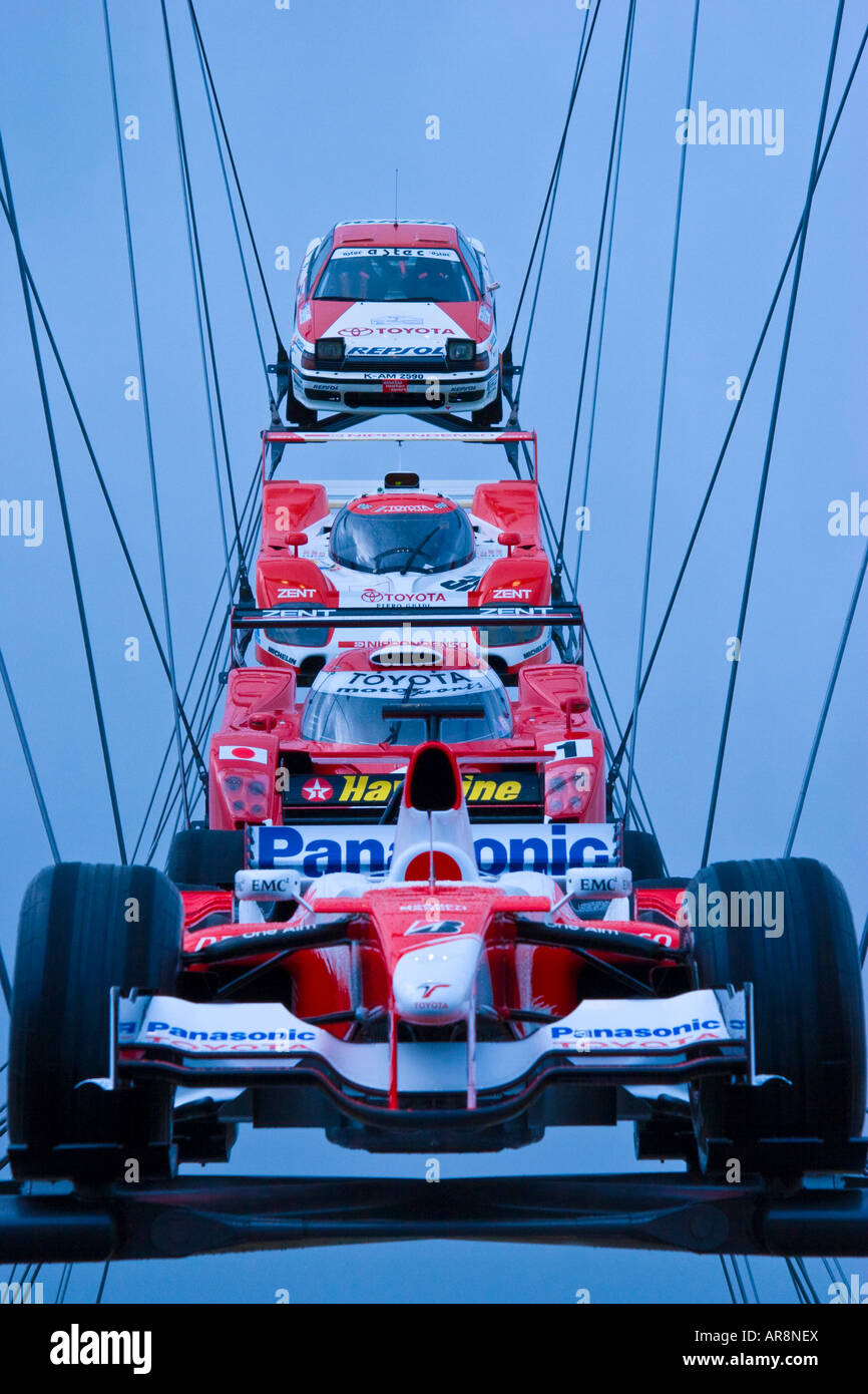 Competitive Toyota racing cars Stock Photo: 15975745 - Alamy