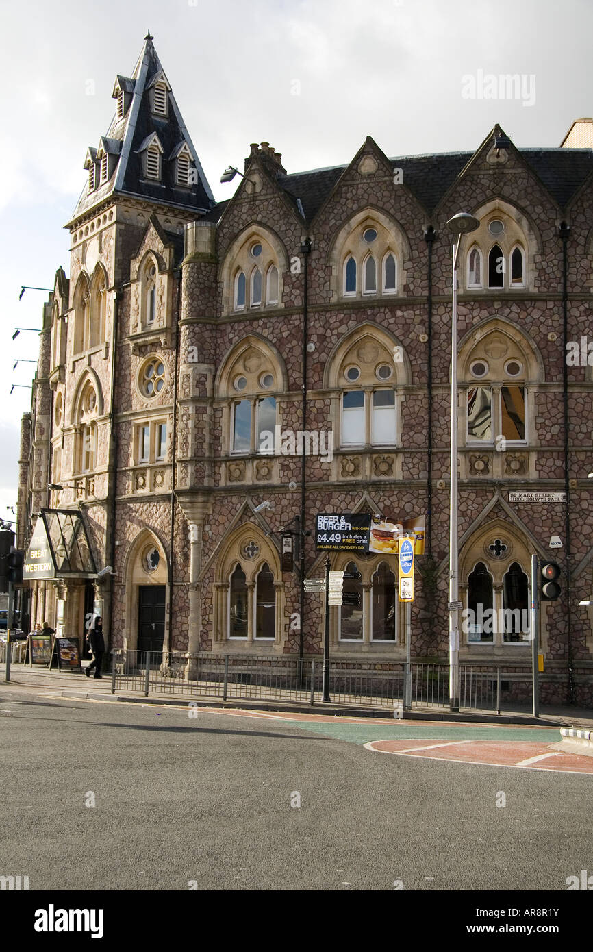 Great Western Hotel St Mary St Cardiff - Stock Image