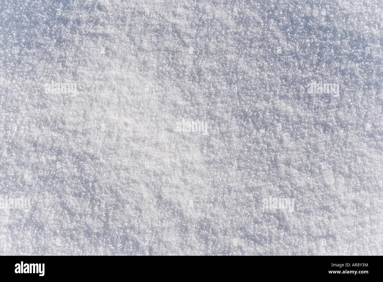 snow background - Stock Image