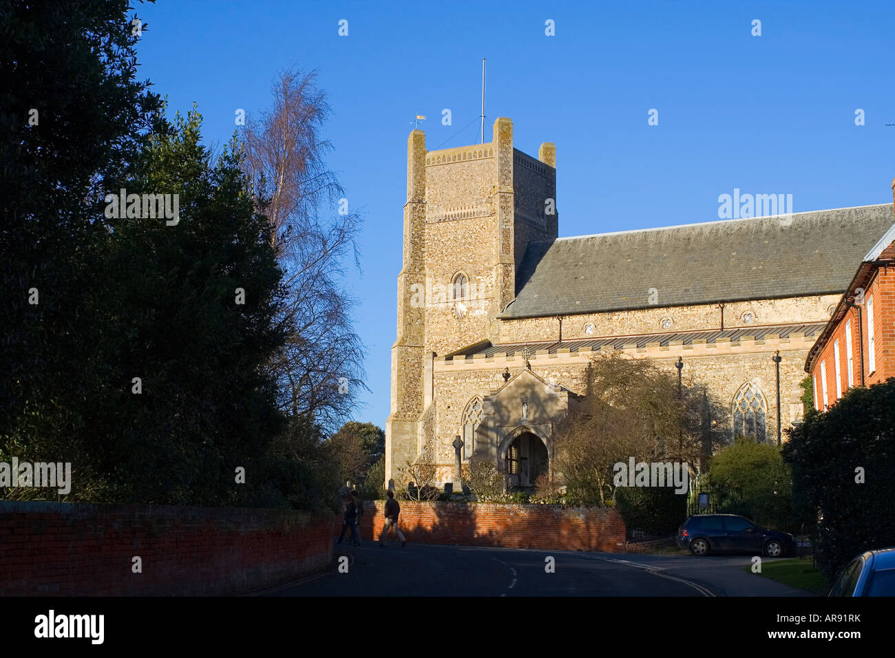Saint Bartholomew s Church in Orford Suffolk England - Stock Image