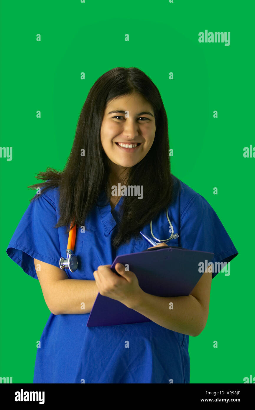 Consider, that Young teen girl nurse