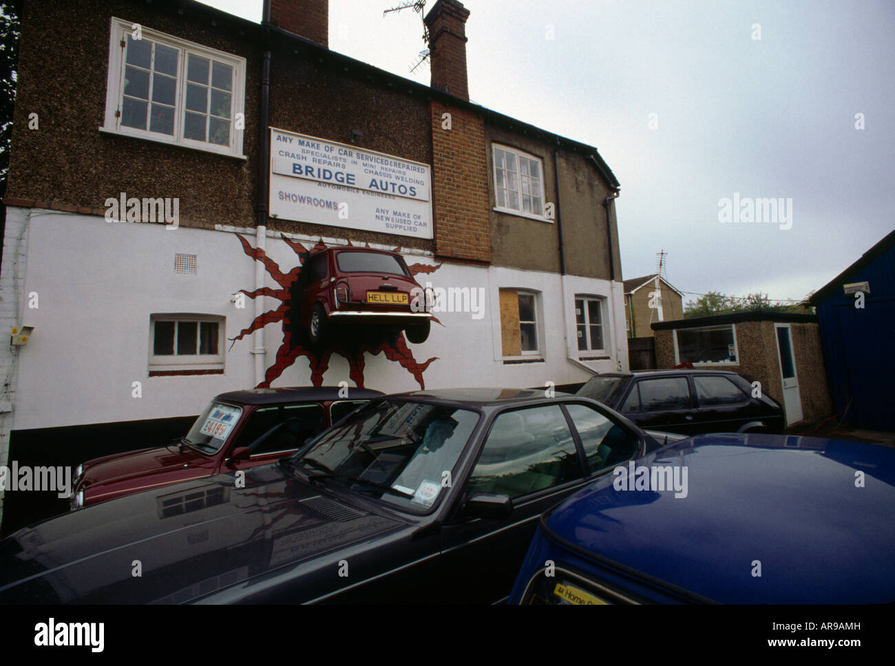 Secondhand Car Sales Surbiton Surrey England - Stock Image