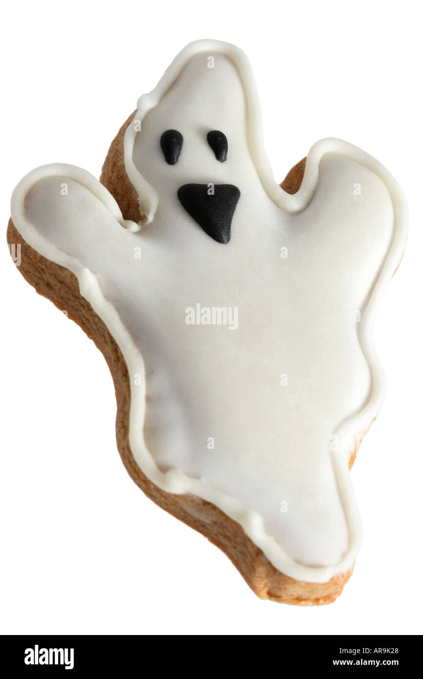 Ghost Cookie - Stock Image