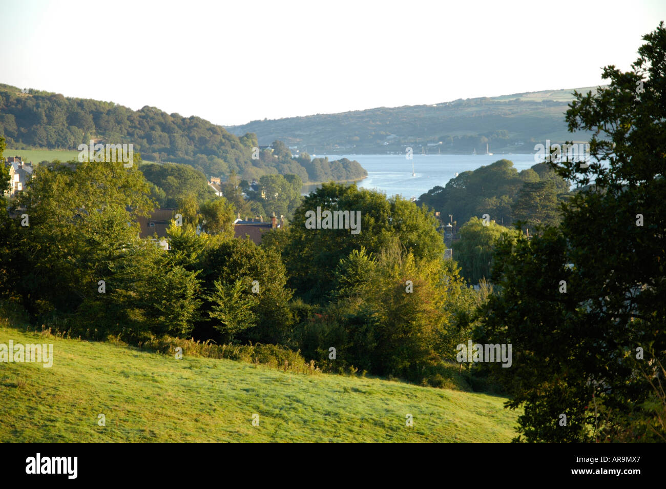 Teify Estuary viewed from St Dogmaels Stock Photo
