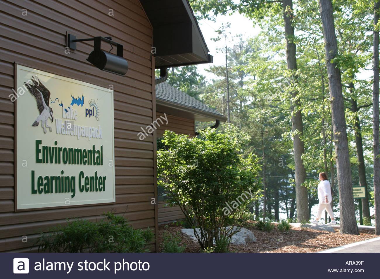 Pennsylvania Pocono Mountains Lake Wallenpaupack Environmental Center