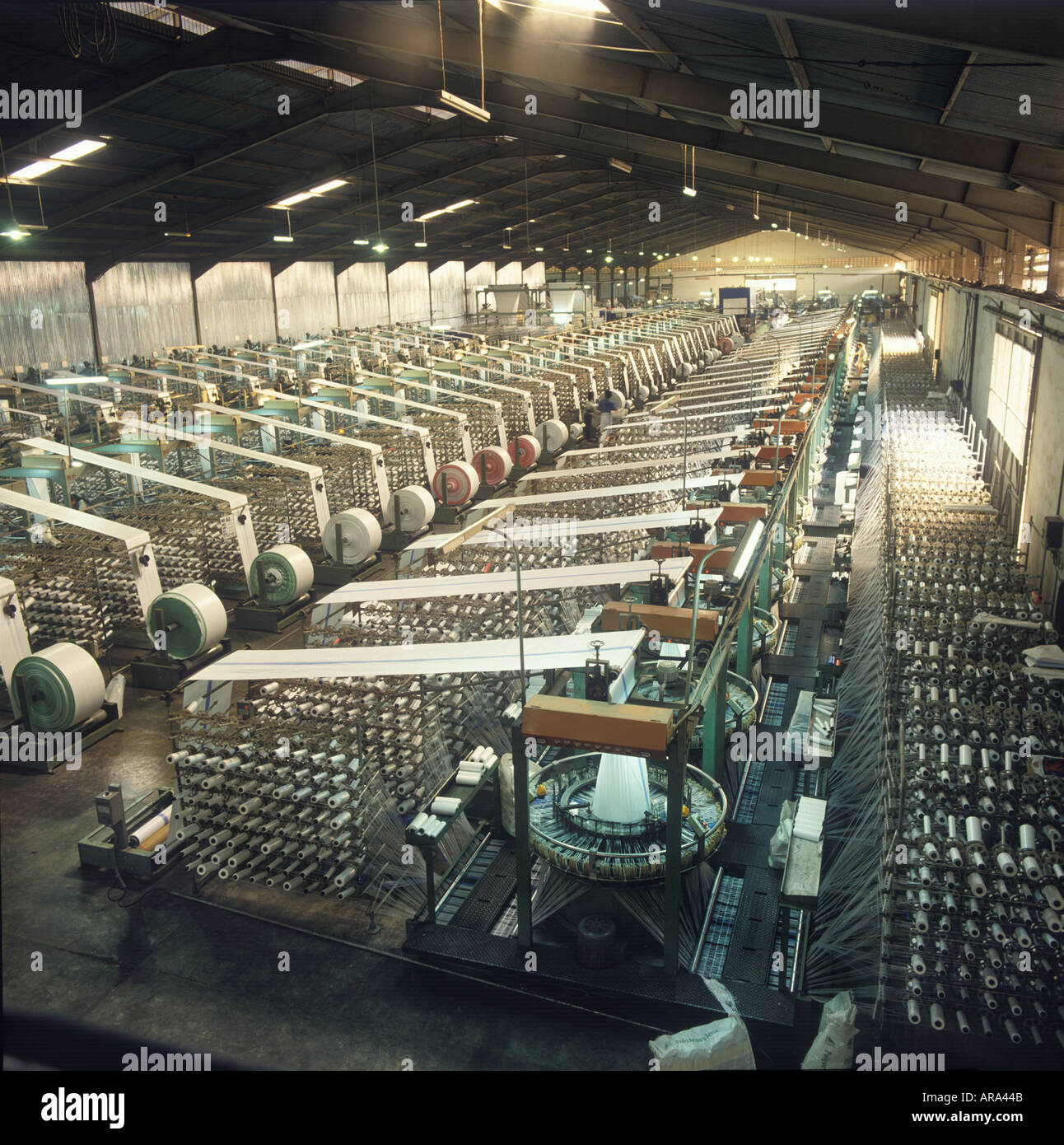 Textile Factory - Stock Image